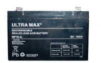 ULTRAMAX Range of Rechargeable Sealed Lead Acid Batteries